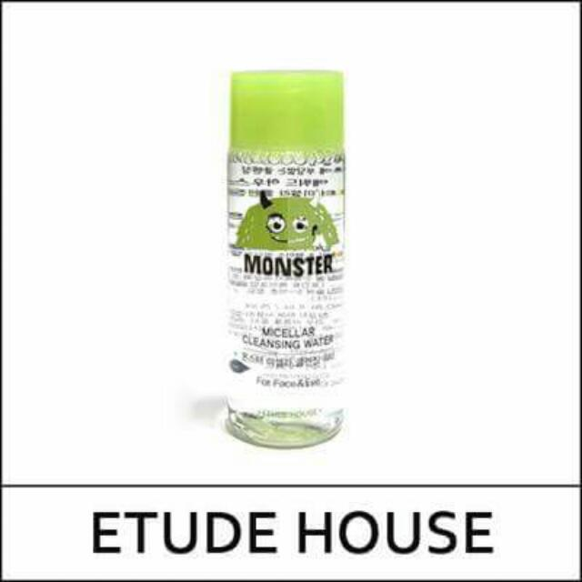 Etude House Monster Micellar Cleansing Water 25ml.