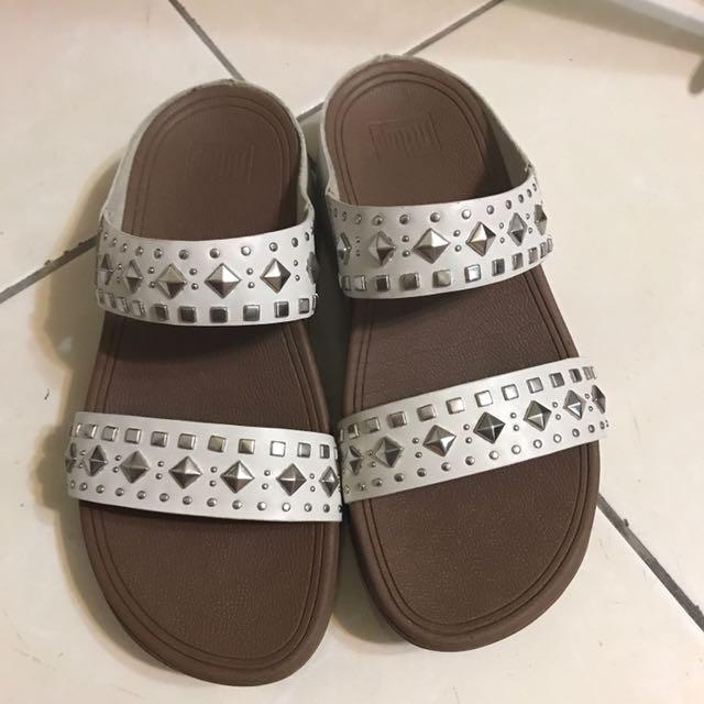 Fitflop米色拖鞋(免運)