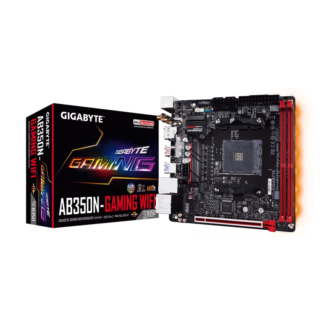Free gift + Gigabyte AM4GA-AB350N-Gaming WIFI ITX