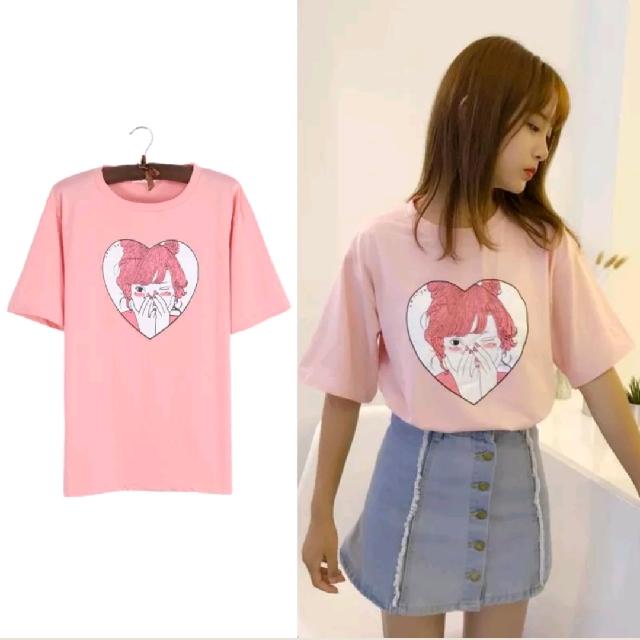 FREE POSTAGE Cute Cartoon Girl Shirt