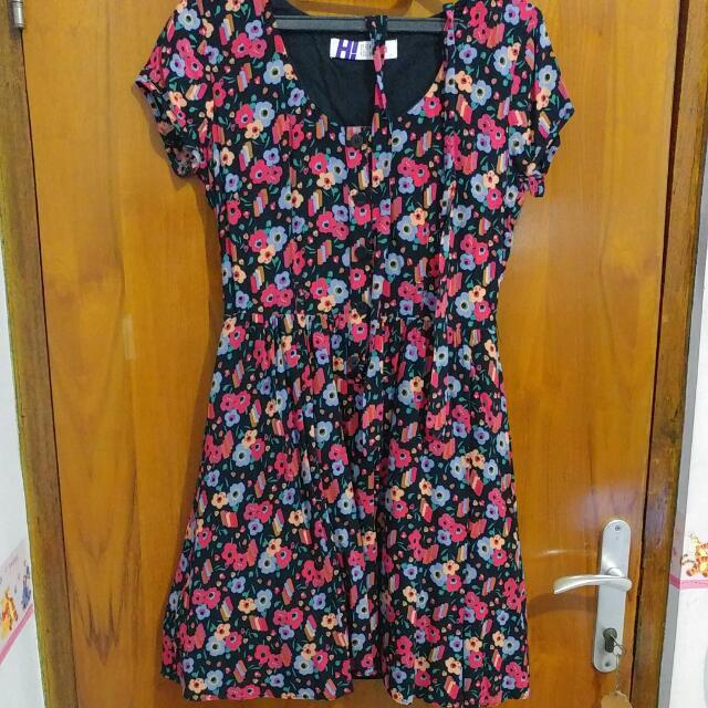 FREE Shipping Henry Holland Vintage Flower Dress