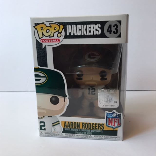 Funko Pop NFL Football Greenbay packers Aaron Rodgers vinyl figure