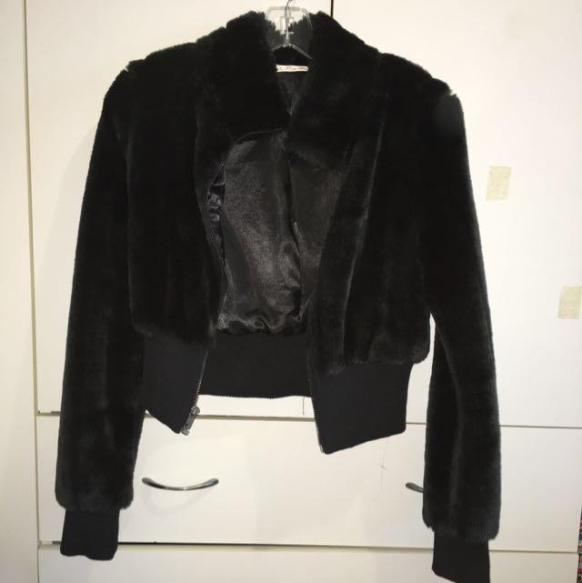 Fur Coat Cropped