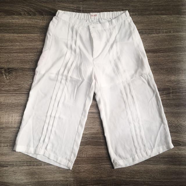 Gaudi White Culottes