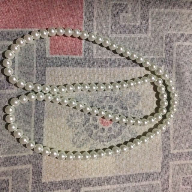Great Gatsby Pearl Necklace
