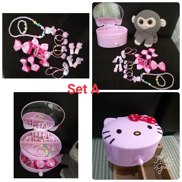Hello Kitty Jewelry Box Sets