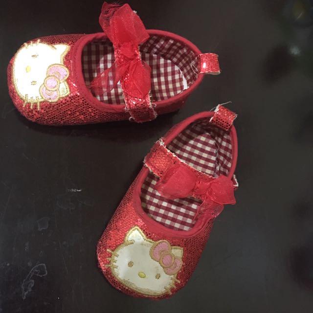 Hello Kitty Prewalker Shoes