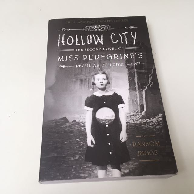 REPRICE/ Hollow City | The Second Novel of Miss Peregrine's Peculiar Children by Ransom Riggs