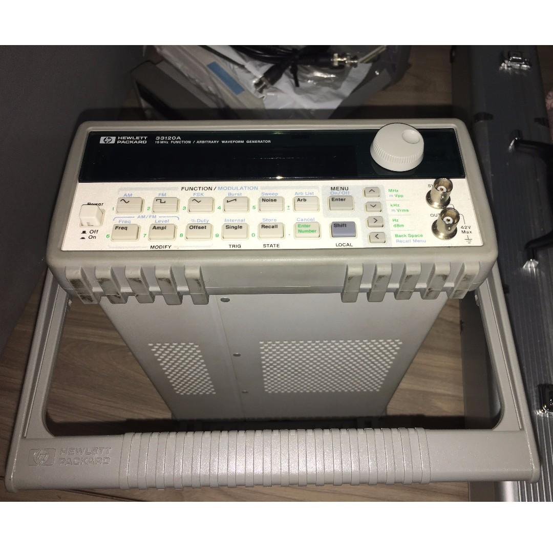 hp agilent 33120a function arbitrary waveform generator rh sg carousell com HP Function Generator HP Function Generator