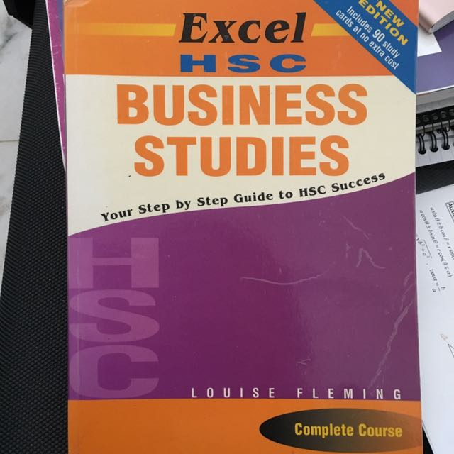 HSC Business Studies Excel-Complete Course, Textbooks on Carousell