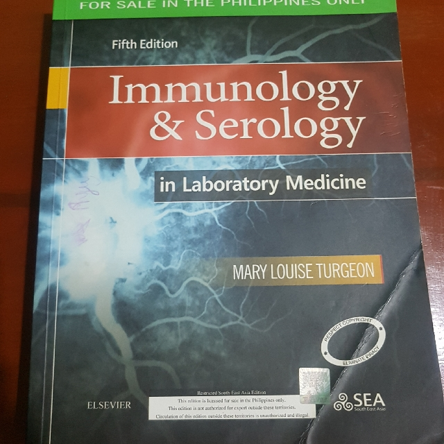 immunology serology in laboratory medicine 5e