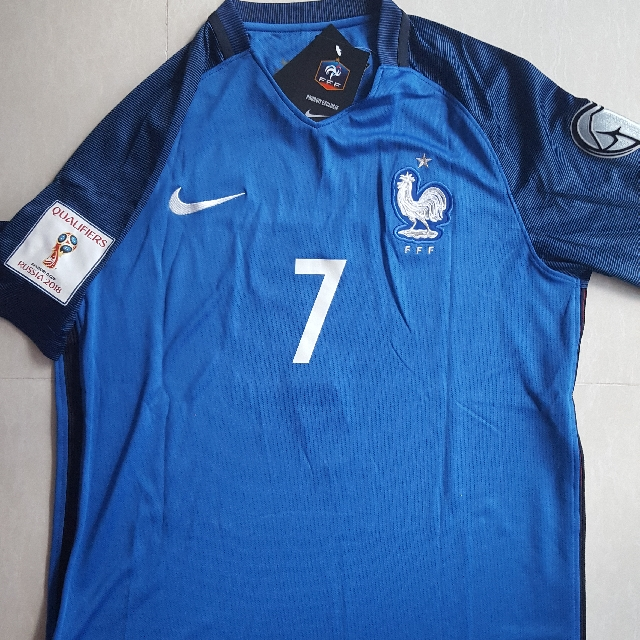 new styles 6ec9f b2c87 In Stock France National Team Home Jersey Adult M Size With Griezmann #7  Fan Version Replica Origi Grade