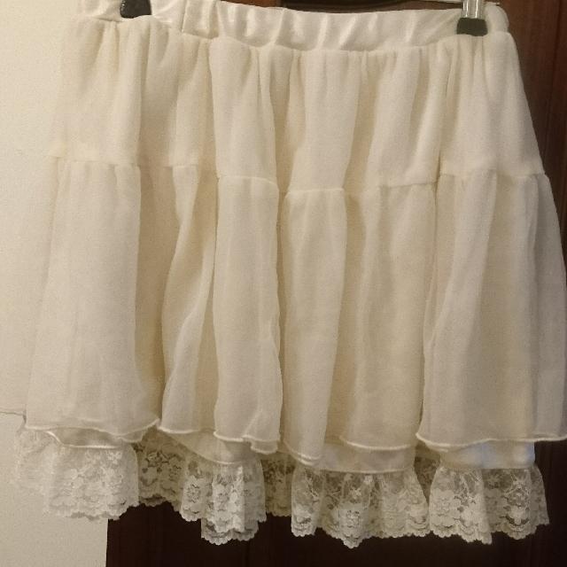 Ingni 雪紡短裙