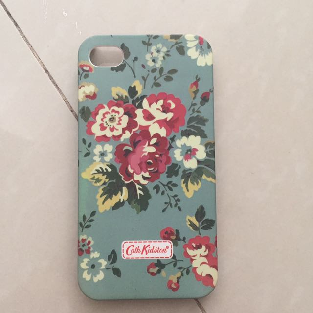 Iphone 4 Cath Kidston Case Mobile Casing Blue Flower