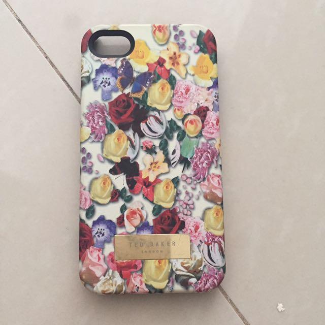 Iphone 4 Mobile Case Casing Ted Baker Flower