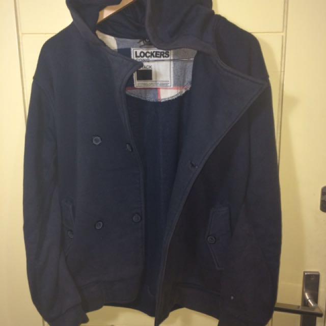 Jaket Sweater Lockers