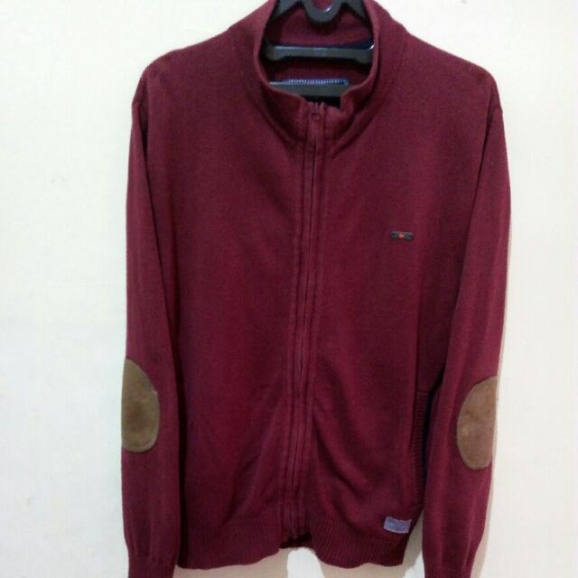 Jaket Sweater Andrew Smith Rajut Original