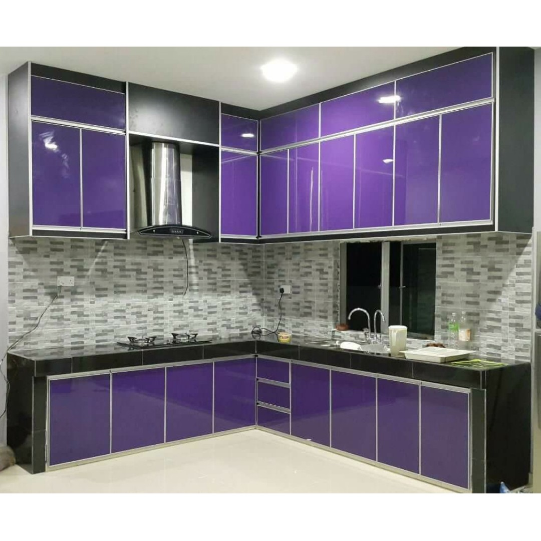 KABINET DAPUR / KITCHEN CABINET 3G PURPLE, Kitchen