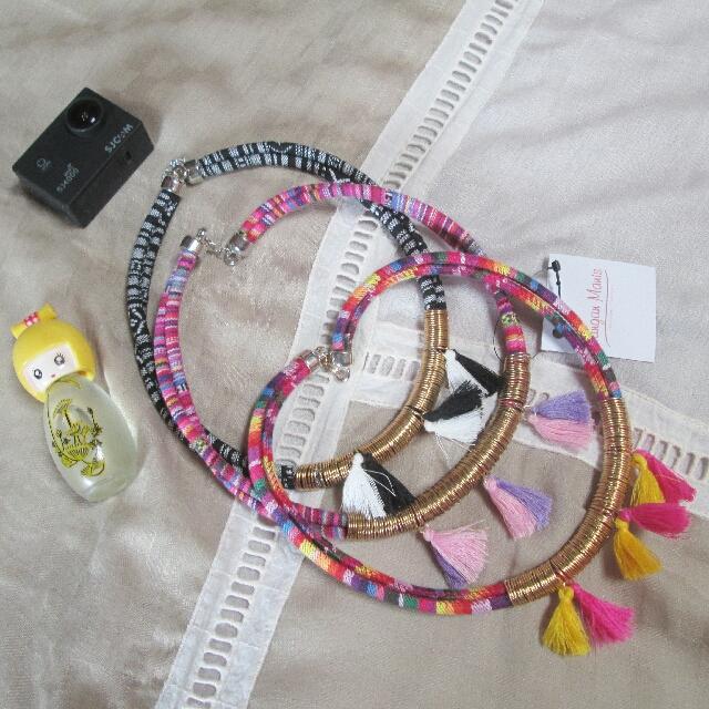 Kalung Maya Necklace Tangan Manis Handmade Jewelry