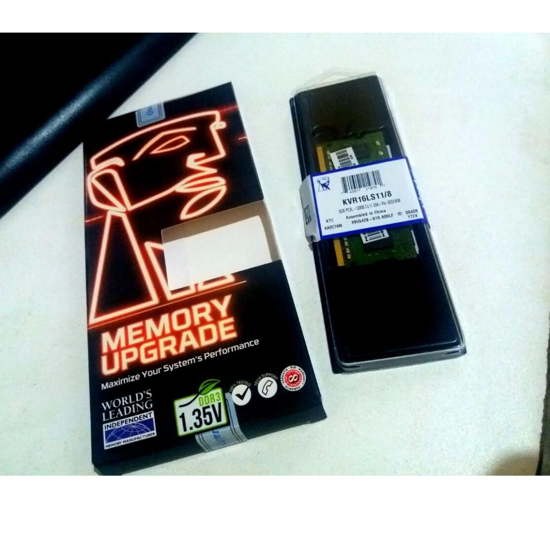 Kingston RAM 4GB ddr 3L for LAPTOP
