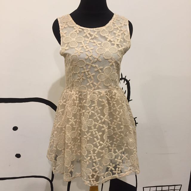 Lace Brokat Dress