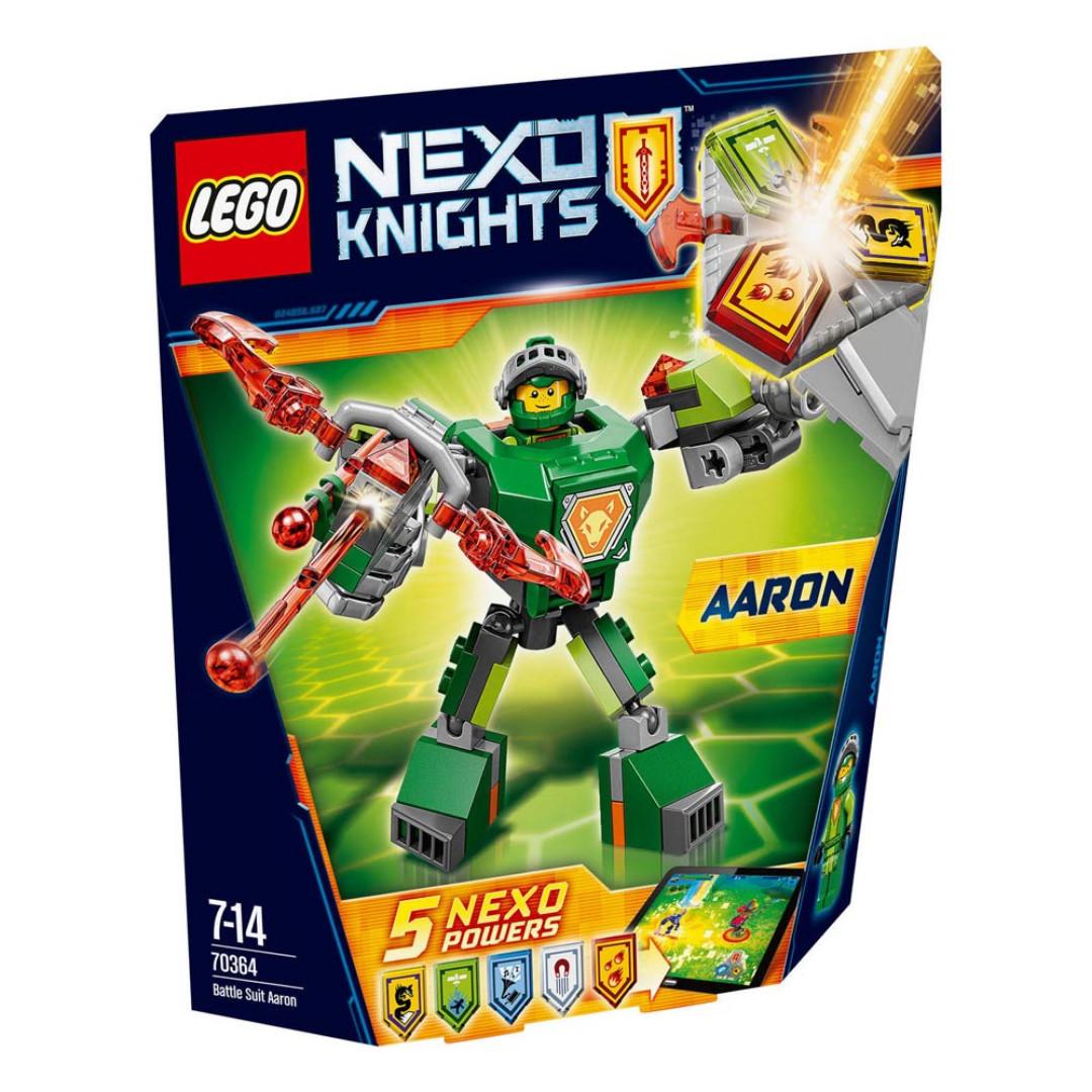 Lego Nexo Knights Battle Suit Aaron - 70364
