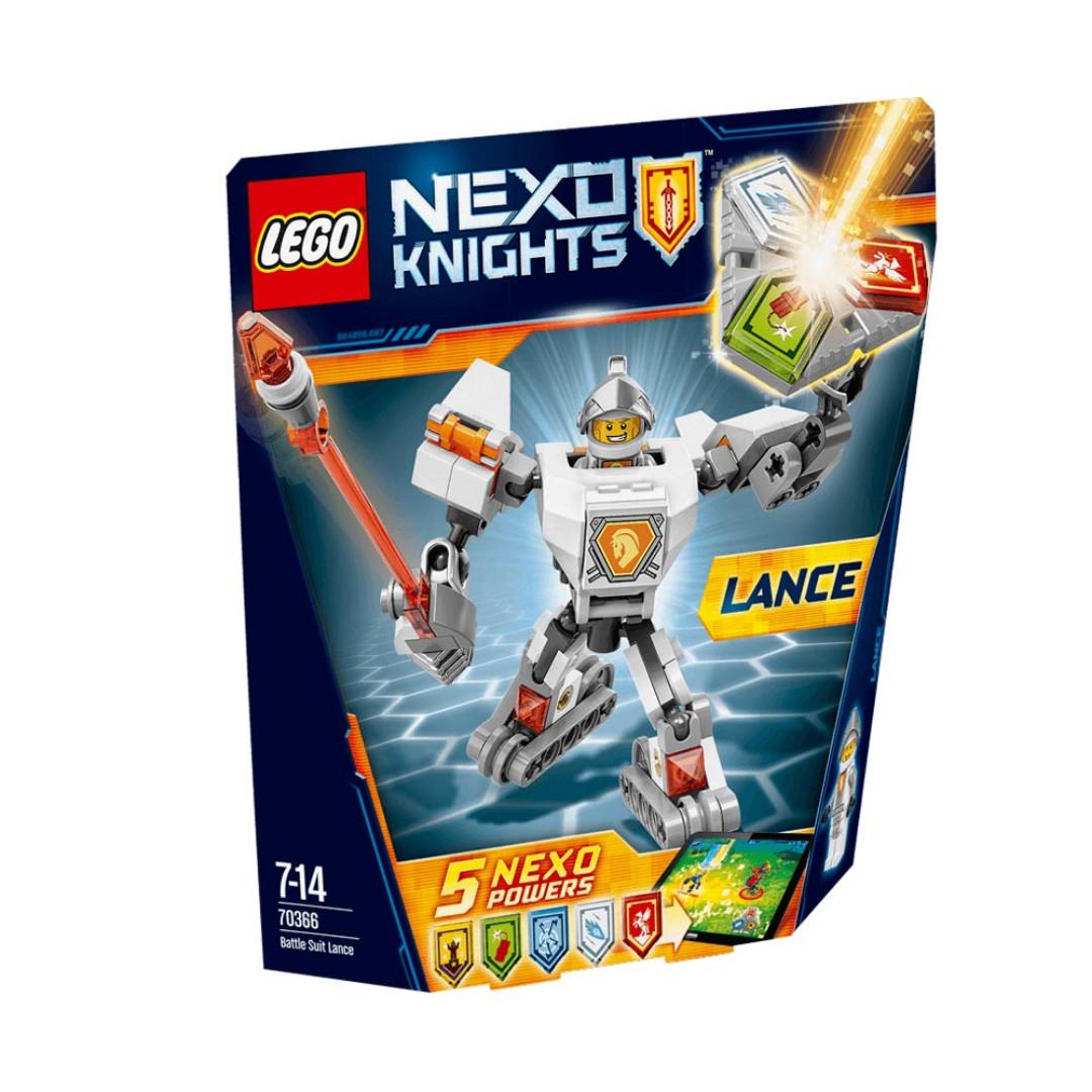 Lego Nexo Knights Battle Suit Lance - 70366