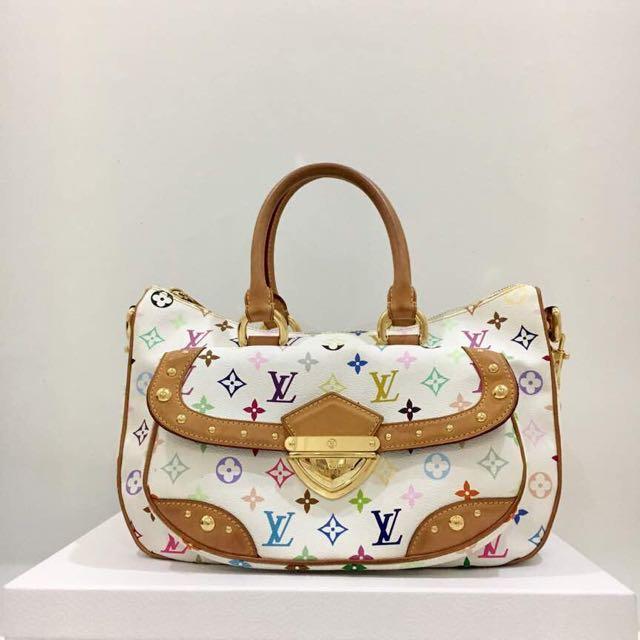 7396181bfcf1 Louis Vuitton Multicolor Rita Handbag