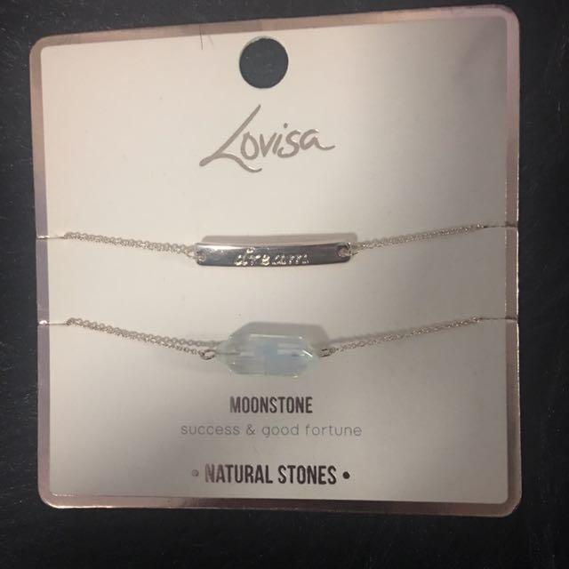 LOVISA semi Precious Stone Bracelets Packs