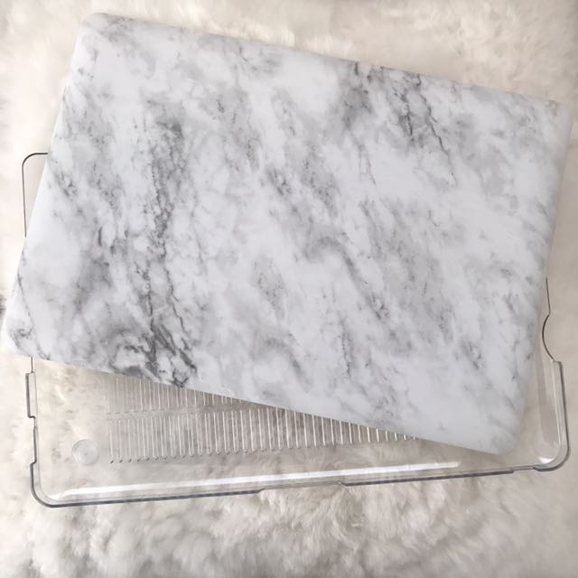 newest collection bfa90 d5524 MacBook Pro 13 Inch Marble Case, Electronics, Computer Parts ...