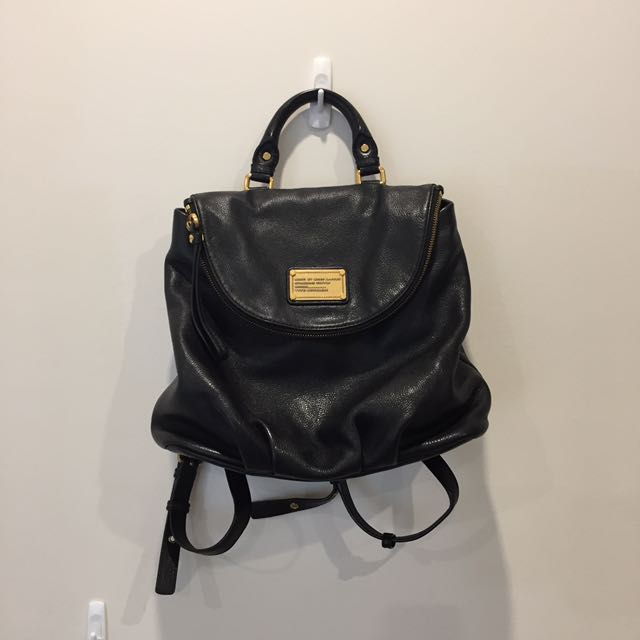MBMJ LEATHER BACKPACK