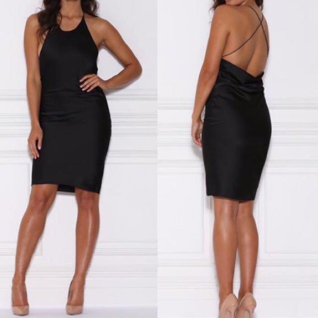 Meshki Black Dress