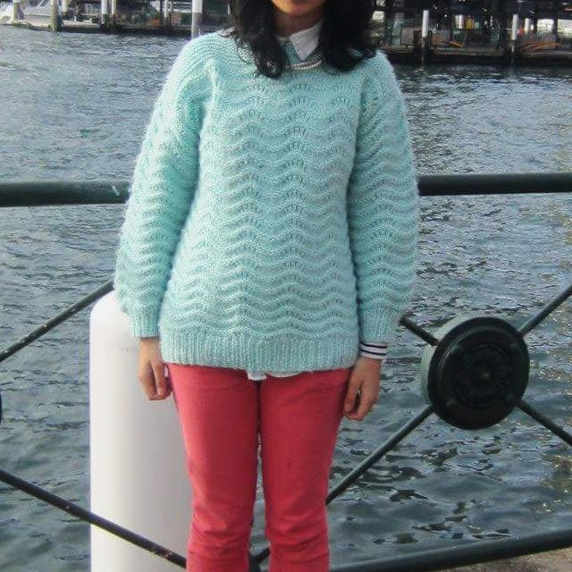 Mint Woollen Knit Jumper