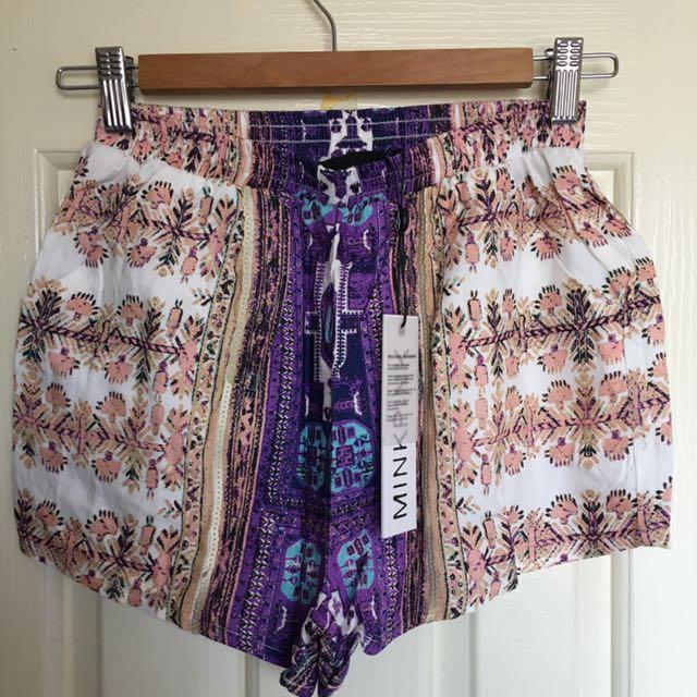 NEW Minkpink Shorts- Size XS