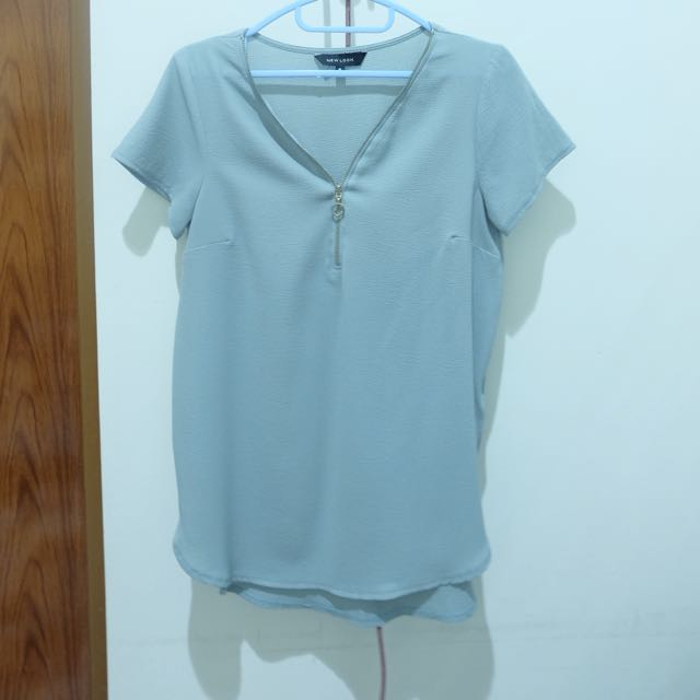 Newlook Zipper Top