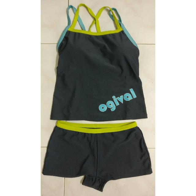 6b2ad9fe6c Ogival Two-piece Women Swim Suit