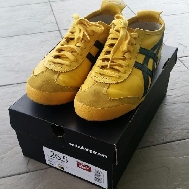 low priced 4882b 76ceb Onitsuka Tiger Mexico 66 Kill Bill, Men's Fashion, Footwear ...