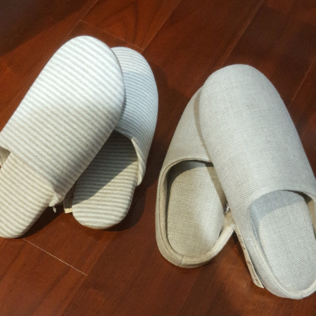 Original MUJI Bedroom Slippers