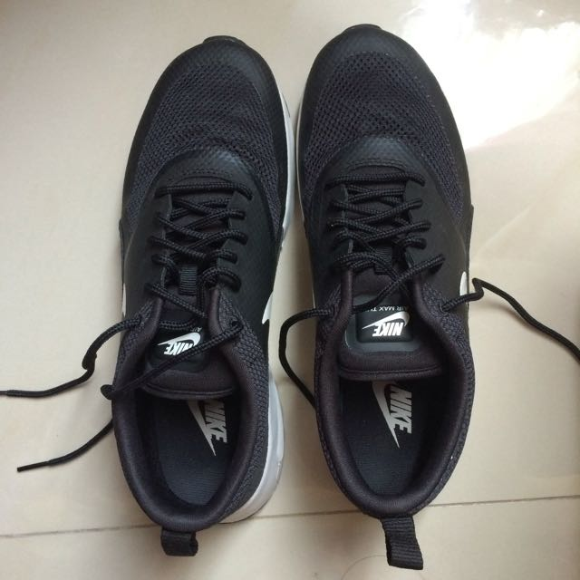 ORIGINAL NIKE AIR MAX THEA BLACK