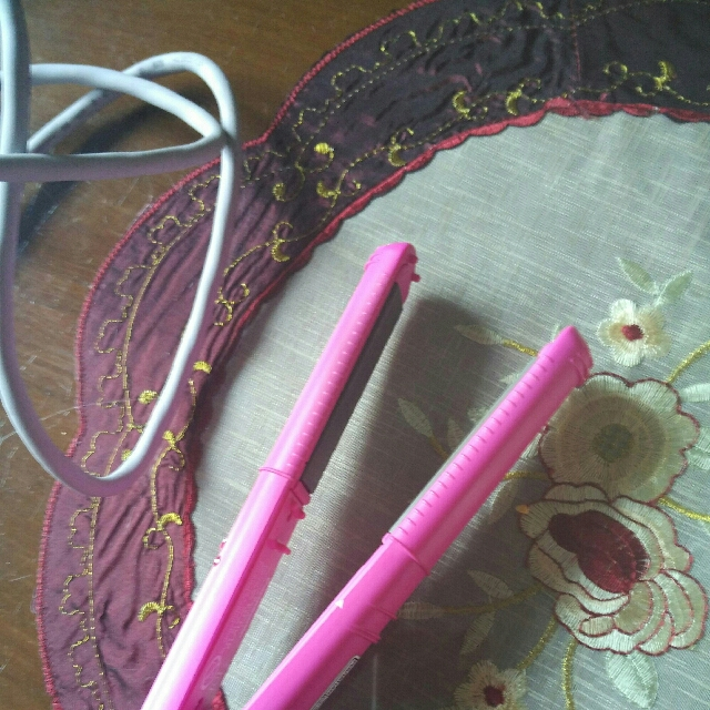 Panasonic Hair Straightener + Curler EH HV1 Pelurus & pengikal Rambut