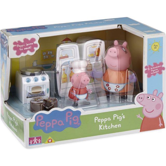 Peppa Pig Peppa Pig S Kitchen Playset