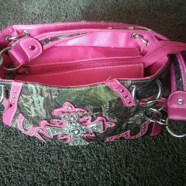 Pink & Camo Purse