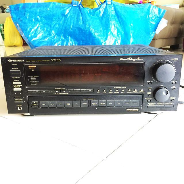 Pioneer Audio / Video Receiver Amp