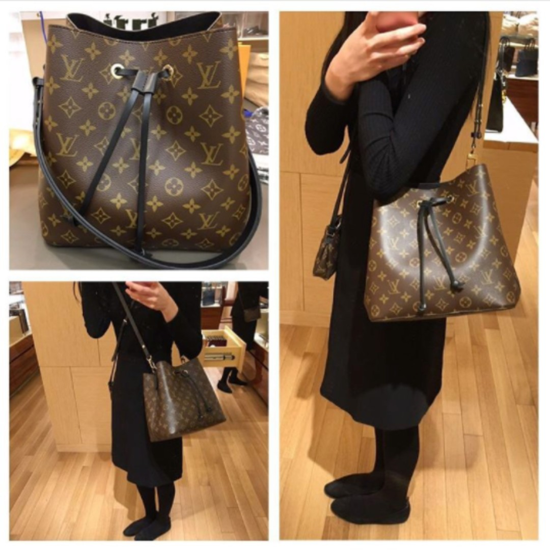 Having owned several Louis Vuitton handbags, I never realized where my handbags were made. Just today, I took a look at my Louis Vuitton Neverfull GM in the Damier canvas and noticed that it .