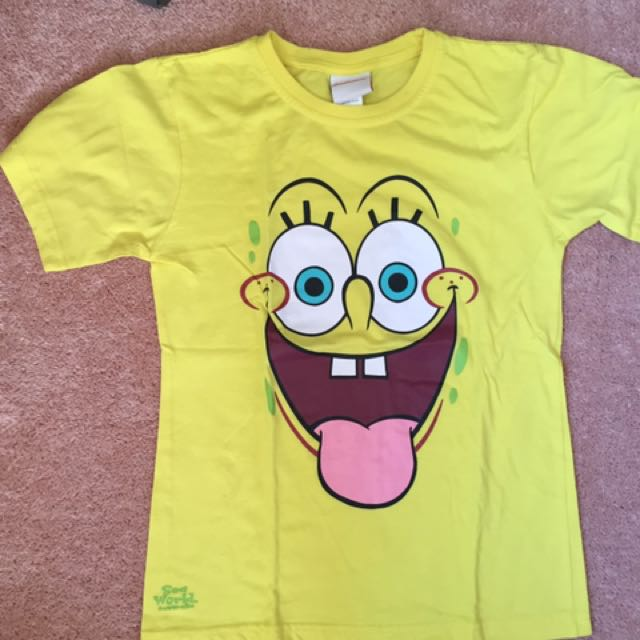 Pokemon & Spongebob shirts
