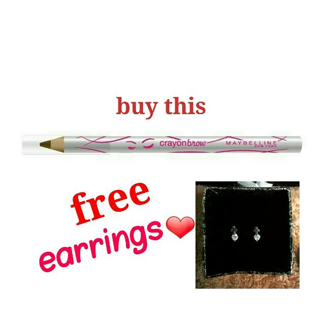 PROMO! MAYBELLINE CRAYONBROWS