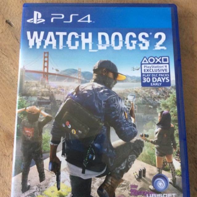 Ps4 Watchdogs 2