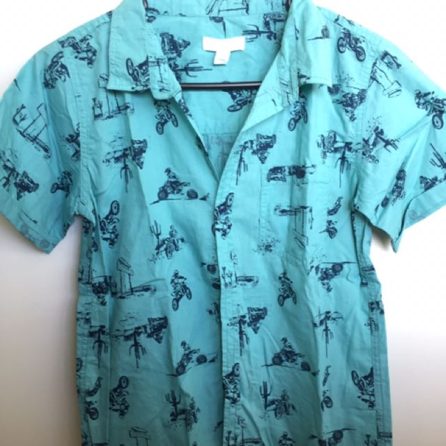 Pumpkin Patch Aquamarine shirt