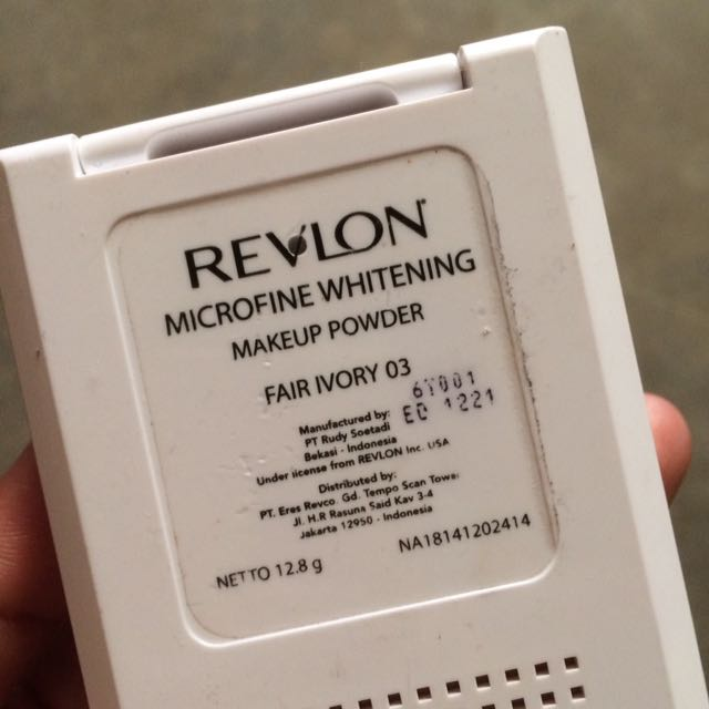 Revlon Microfine Whitening Makeup Powder