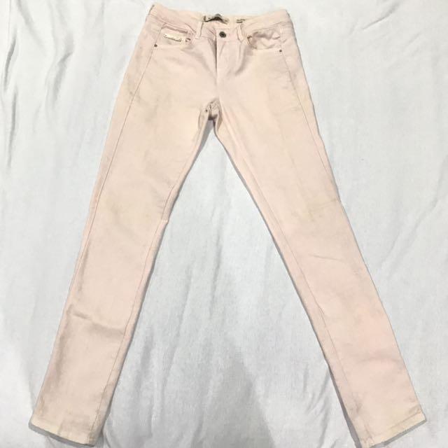 Salmon Jeans Original Bershka